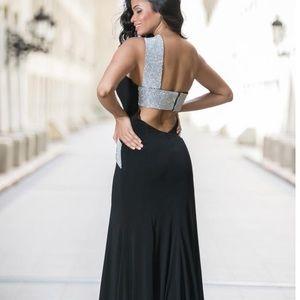 NWT Jovani black gown